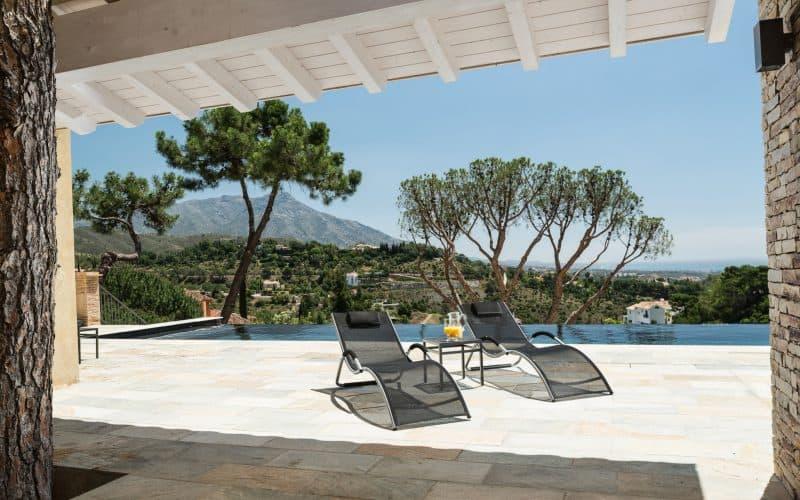 Villa La Sorpresa Terrace - Luxury Marbella Holiday Villa Rental