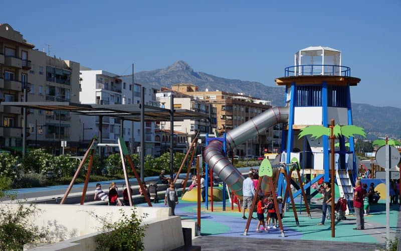 Kiddies Play Area on the Boulevard | El Madroñal