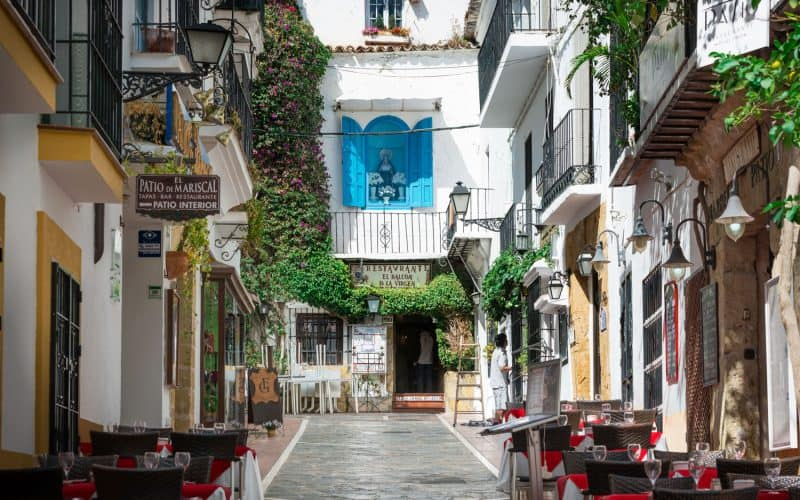 Costa del Sol Places to See | Marbella Old Town Restaurant