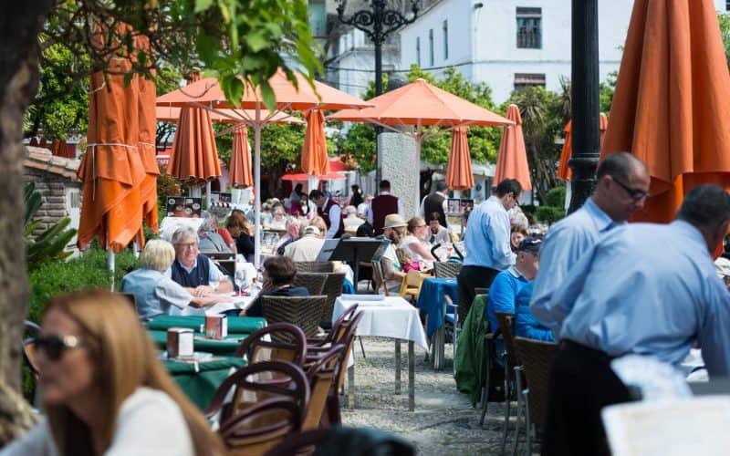 Costa del Sol Places to See | Orange Square, Marbella